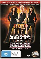 Charlie's Angels / Charlie's Angels - Full Throttle (DVD, 2011)