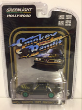 RARE Smokey and the Bandit 1977 Pontiac T/A Greenlight 1:64