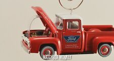 Vintage Style 1956 Ford F100 Pickup Truck Christmas Ornament 1/64 Adorno F-100