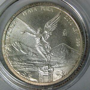 2018 Onza Mexico Libertad 1/4oz .999 Fine Silver *BU*