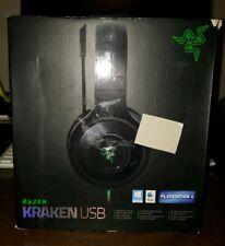 Razer Kraken USB - Black Noise Isolating Over-Ear Gaming Headset with Mic