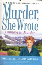 Murder She Wrote; Panning for Murder (LARGE PRINT) by Jessica Fletcher, Donald B