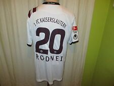 1.FC Kaiserslautern uhlsport Matchworn Trikot 2011/12 + Nr.20 Rodnei Gr.L