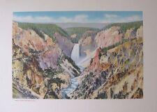 "F Jay Haynes Photo Art Print ""Grand Canyon From Artist Point"" 1930's Free Ship"