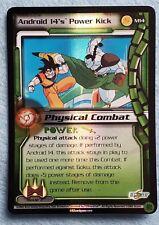 2003 Dragon Ball Z CCG Movie 7 Promo M14 ANDROID 14'S POWER KICK Ltd Ed Foil NM