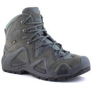 Lowa Zephyr GTX Mid TF Men's Tactical Waterproof Gore-Tex Walking Boots Grey