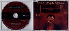 TAKING BACK SUNDAY Make Damn Sure 2006 UK 1-track promo CD PR015816