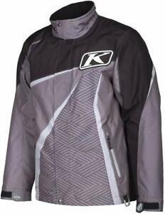 Klim Kaos Parka Gray / Black Snowmobile Jacket Insulated 3803-000-XXX-XXX