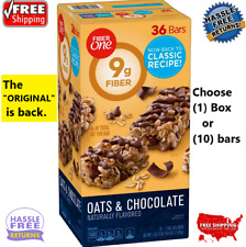 📌Fiber One Oats and Chocolate Chewy Bars 36 ct *ORIGINAL IS BACK* FREE RETURNS