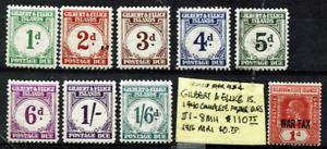 😎😎CHEAP <25% Scott! 1940 GILBERT & ELLICE complete set DUESSc$110+