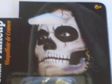 Halloween Skull Makeup Kit Earring Costume Theater Face Paint