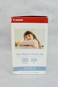 Canon Slephy CP Colour Ink / Paper Set KP-108IM 4x6 in For 108 Prints New Sealed
