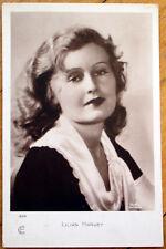 1930s Realphoto Movie Star Postcard: Actress, Lillian Harvey