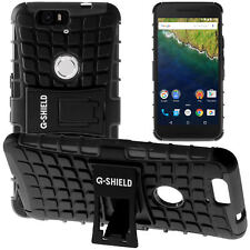 G-Shield® Shockproof Heavy Duty Hard Stand Case Cover For Huawei Google Nexus 6P