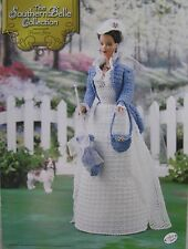 Annie's Attic Southern Belle Fashion Bed Doll Crochet Pattern Flower Show