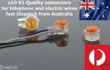 x10 k1 electric or telephone cable connector joint for TELSTRA OPTUS ADSL2+
