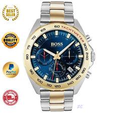 HUGO BOSS SPORTS INTENSITY HB1513667 GOLD & STEEL MEN'S CHRONO LUMINOVA WATCH
