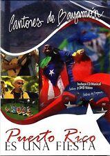 CANTORES DE BAYAMON - PUERTO RICO ES FIESTA - CD/DVD( DVD GRABADO EN EXTERIORES)