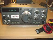 Kenwood TS-120S 80-10 Meter SSB/CW  Radio Transceiver - Clean - with minor issue