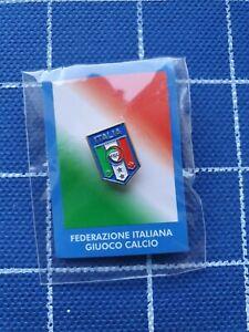 Official pin badge FIGC ITALY Italia football federation association calcio