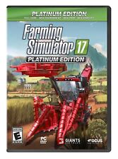 Farming Simulator 17 Platinum Edition PC NEW!