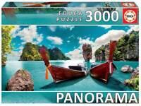 PUZZLE DE 3000 PIEZAS EDUCA 18581 PHUKET, TAILANDIA  Puzzle PANORAMA 144 x 68 cm