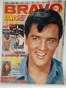BRAVO Nr.6 31. Januar 1980 Nastja, Tim Curry, Olivia Pascal, Elvis
