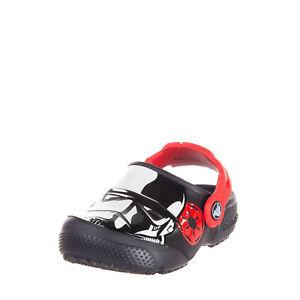 CROCS STAR WARS Kids Rubber Clog Sandals Size 24-25 UK 8 US 8 Coated 'Star Wars'