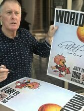 Sir Geoff Hurst England 1966 WORLD CUP POSTER SIGNED 4-2 £14.99