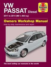 Haynes Workshop Manual VW Passat Diesel 2011-2014 Service & Repair
