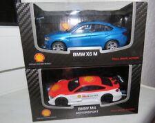 2x BMW Modellautos / BMW X6 M + BMW M4 Motorsport / 1:43 / nagelneu