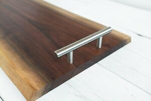 Walnut Wood Serving Board. Perfect for Dining room tables and hosting parties.