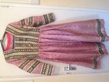 Afghan light pink kochai dress