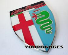 Placa de Esmalte Cromo Coche Alfa Romeo Gt Araña 159 Mito