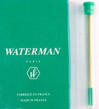 1 x Waterman Genuine PANTA D1 BALLPOINT refill GREEN medium point