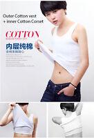 All cotton Breast corset sport Lesbian cosplay women Vest  Chest Binder