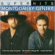 MONTGOMERY GENTRY : SUPER HITS (CD) sealed