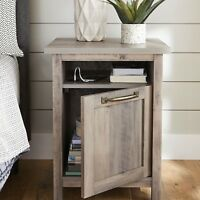 Nightstand Farmhouse Bedroom Nightstands Living Room End Table Sofa Side Tables