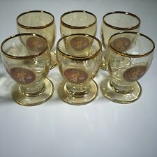 6pc Made in Italy Shot Glass Vodka Shots