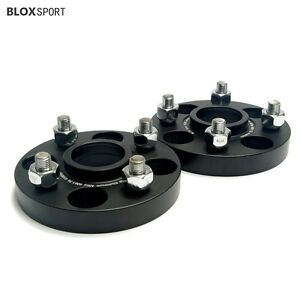 2Pc 20mm Aircraft Aluminum Wheel Spacers for Honda Fit GK GE GD City Prelude