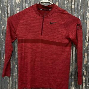 Nike Golf 1/4 Zip Long Sleeve Dri Fit Shirt MGM National Harbor Mens Size Medium