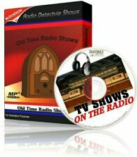 Crime Mystery Detective / Old Time Radio shows OTR - on Mp3 CD
