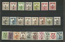PRC China Stamps: North Liberated Areas Manchukuo Overprinted Lot of 25 Mint NH