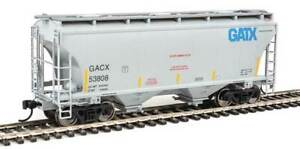 WALTHERS MAINLINE 910-7555 TRINITY 3281 2 BAY COVERED HOPPER GATX  RD# GACX53808