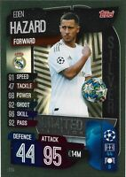 MATCH ATTAX 2019/20 EDEN HAZARD SILVER LIMITED EDITION LE3S