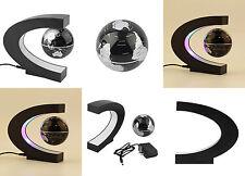 C-Shape StylishDecorative Magnetic Levitating Floating World Map Globe LED Light
