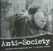 VARIOUS ARTISTS - ANTI-SOCIETY (ANARCHO-PUNK, VOL. 3) USED - VERY GOOD CD