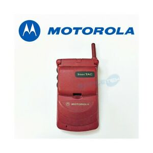Phone Mobile Phone Motorola StarTAC 308C Gsm 900 Red Second Hand