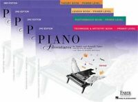 Faber Piano Adventures Primer Level Learning Library Pack - Lesson, Theory, Perf