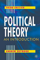 Political Theory: An Introduction, By Heywood, Andrew,in Used but Acceptable con